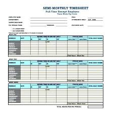 Time Sheet Doc Monthly Templates Free Sample Example Format Printable Time