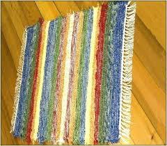 cotton throw rugs washable accent machine washabl