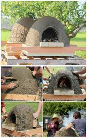 diy wood fired earth oven instructions diy outdoor pizza oven ideas projects