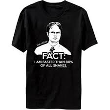 the office merchandise. The Office TV Show Dwight Fact Faster Than Snakes Men\u0027s T-shirt L Merchandise I