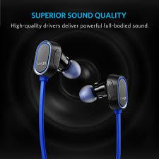 Tai nghe Bluetooth Anker SoundBuds Sport Blue (Màu xanh biển)