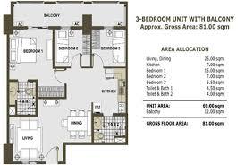3 bedroom condos. contemporary ideas 3 bedroom condo zinnia towers condos n