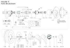 delta parts diagram old delta shower faucet replacement parts delta monitor shower faucet parts diagram delta