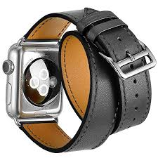 valkit for apple watch band iwatch bands 42mm genuine leather strap iphone smart watch band bracelet