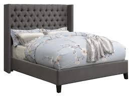 Queen Bedroom Sets Grey Wood Platform Bed Frame Ikea Beds Gray King ...