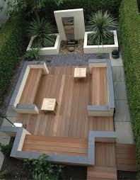 Small Picture Contemporary Garden Design Manchester Planters built in
