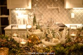 Apothecary Jars Christmas Decorations Christmas Centerpiece with Apothecary Jars Home with Holliday 40