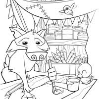 Small Picture Animal Jam Coloring Pages The Daily Explorer Coloring Coloring Pages