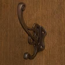 Rubbed Bronze Coat Rack Calvert Double Brass Hook Oil Rubbed Bronze Victorian Kitchen 84