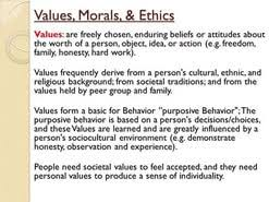 essay moral values  essay moral values