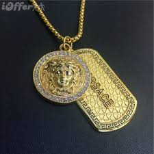 new mens 18k gold necklace hip hop jewelry f