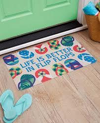 more options themed doormats flip flops