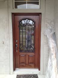 architecture wood and wrought iron front doors with glass pilotproject org pertaining to inspirations 2 where
