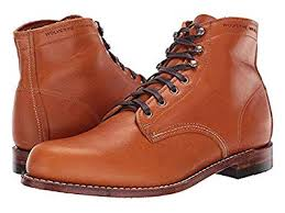 Wolverine Width Chart Amazon Com Wolverine Heritage Mens 1000 Mile Boots