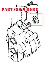 new seal for hydraulic pump for farmall 140, super a, and other Farmall 240 Hydraulic System Diagram hydraulic pump seal for farmall 140, 130, super a, 100, super c Farmall 666 Hydraulic Diagram