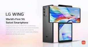 LG Wing ra mắt: Màn hình kép, thiết kế xoay độc đáo, giá khoảng 1000USD