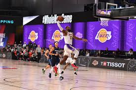 Lakers vs. Mavericks Final Score: LeBron, AD impress in first scrimmage -  Silver Screen and Roll