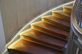 staircase led lighting. strip on stair 600px wide staircase led lighting l