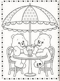 Small Picture Printable care bears coloring pages cheer bear Kids Coloring Pages