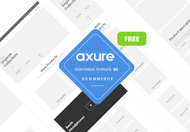 3 Template Axure Responsive Template Ecommerce Website