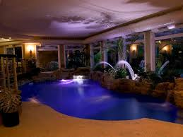 indoor swimming pool lighting. Best Indoor Swimming Pool Design With Natural Rock Decoration And Fiber Optic Lights Lighting