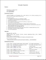 Resume Template Openoffice Open Office Resume Templates Bunch Ideas ...