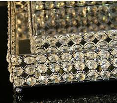 Decorative Metal Serving Trays Fashion decorative metal crystal tray mirror tray wedding decoration 62