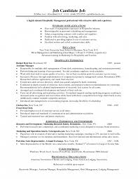 Management Resume Objective Statement Administrative Assistant