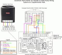 goodman ac air handler. astounding goodman ac thermostat wiring diagram heat pump together with air handler