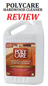 polycare wood floor cleaner review