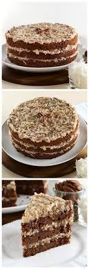 Decorated German Chocolate Cake 17 Best Ideas About German Chocolate Cakes On Pinterest German