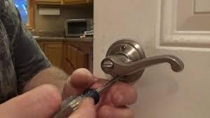 how to change a door knob easy - YouTube