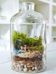 fairy garden terrarium. Brilliant Garden Miniature Garden In Fairy Garden Terrarium W