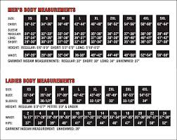Time And Tru Clothing Size Chart Drirelease Short Sleeve T Shirt