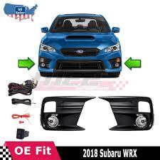 2006 Wrx Fog Light Kit Details About For 2018 2019 Subaru Wrx Clear Fog Light Pair