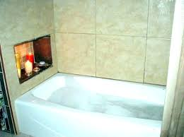 tub surround bathtub installation tubs and surrounds kit in bathroom transitional with ideas next to