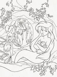 Free Mermaid Coloring Pages Image 47 Gianfredanet