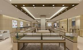 Jewelry Store Interior Design Plans Unique Showroom Interior Design Magnificent Jewelry Store Interior Design Plans