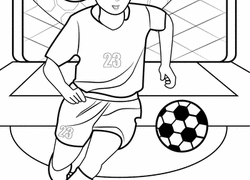 Soccer Coloring Pages Printables Educationcom