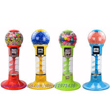 Toy Vending Machine Companies Simple Mini Coin Operated Games Gumball Capsule Toy Spiral Vending Machine