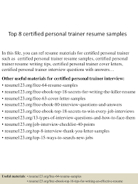 Trainer Resume Sample Top10000certifiedpersonaltrainerresumesamples10000lva100app61000092thumbnail100jpgcb=10010033100910000100001002 52