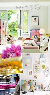 sunny day home office. Use Color Photos In Black Collage Frame; Get New Lampshade; Throw Pillows (black/white Stripe \u003d Mix? Via My Paradissi: Office Sunny Day Home E