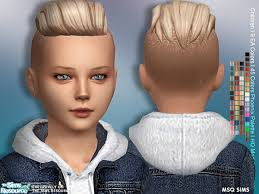 lukas hair child by msqsims from tsr