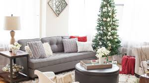 It means you can put on some decorations without any other colors than white. 15 Christmas Living Room Ideas That Will Get You In The Holiday Spirit Hayneedle