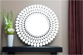 contemporary round wall mirrors decorations modern round wall mirror ideas with yellow plastic in large round contemporary round wall mirrors