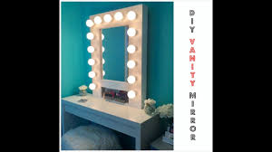 makeup mirror lighting. HOW TO: Build Your Own Hollywood Vanity Mirror W/Lights EASY AND AFFORDABLE - YouTube Makeup Lighting