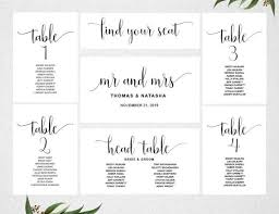 Wedding Seating Chart Cards Template Table Seating Chart Get Rid Of Wiring Diagram Problem