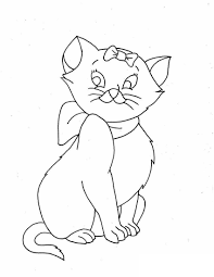 Printable Kitty Coloring Pages Beautiful Kitty Cat Coloring Pages