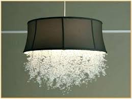 white drum shade chandelier with crystals drum shade chandeliers 4 light double white drum shade crystal