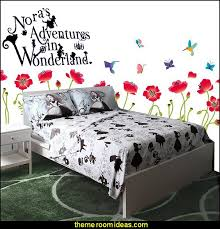 disney alice in wonderland alice silhouette bedding